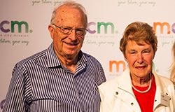 Meet Malcolm and Pam, two long time MCM supports who are leaving a gift to MCM in their Will